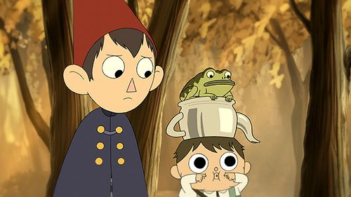 Over the Garden Wall�...