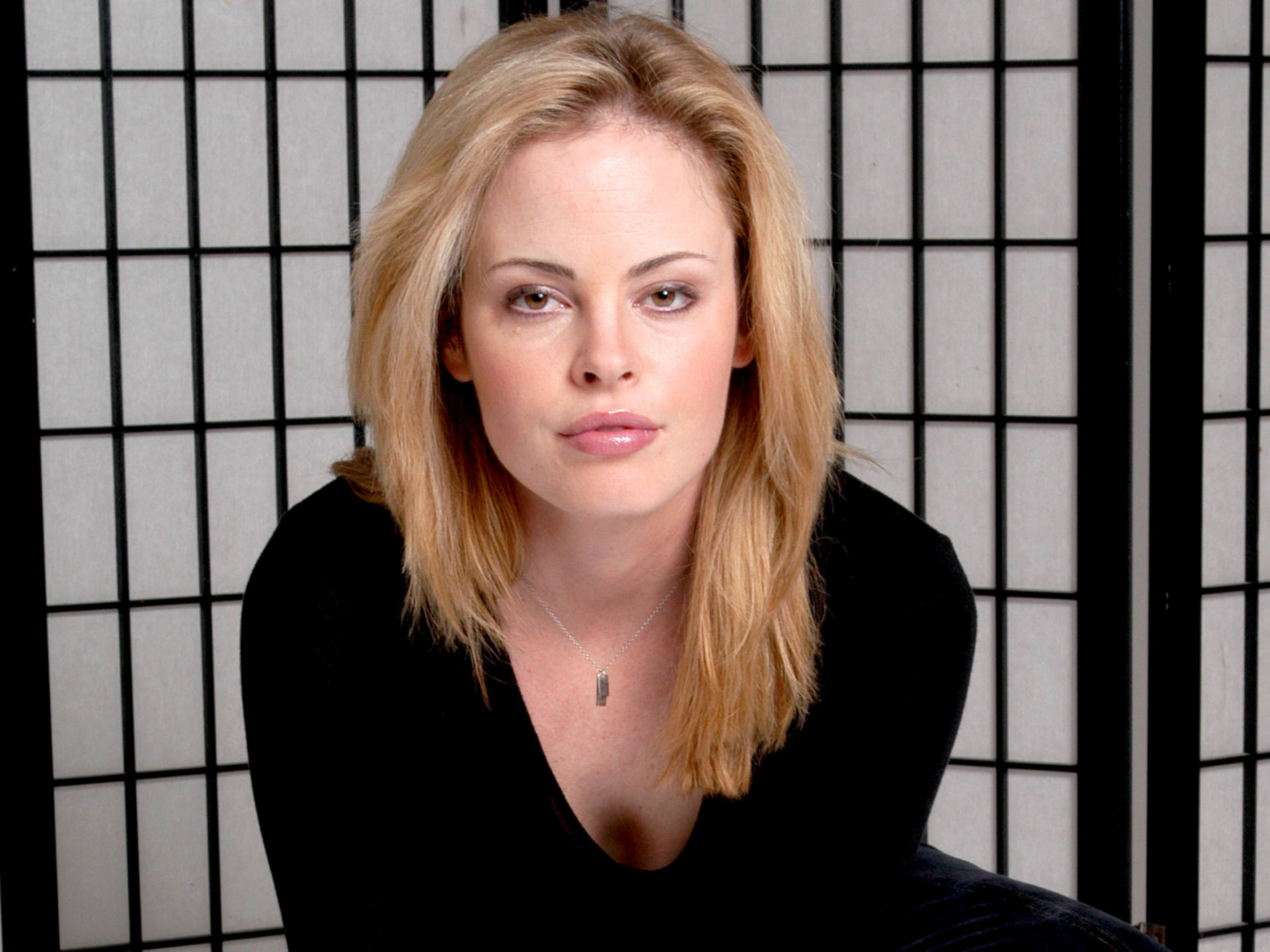 Photo of the confident charming  Chandra West from Edmonton, Alberta, Canada without makeup