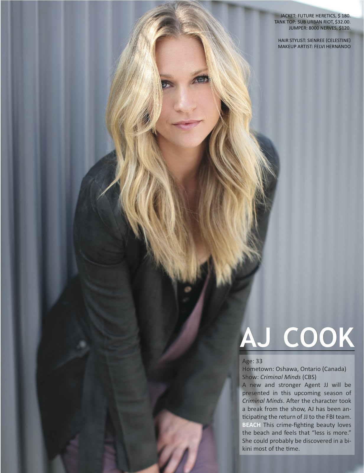 Andrea J Cook hot tv babe every week:andrea joy cook | 天涯小筑